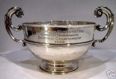 The cup for the 1906 Championship