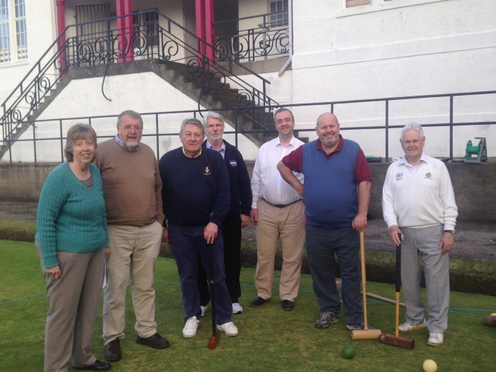 Founder members of Aberdeen Saints CC