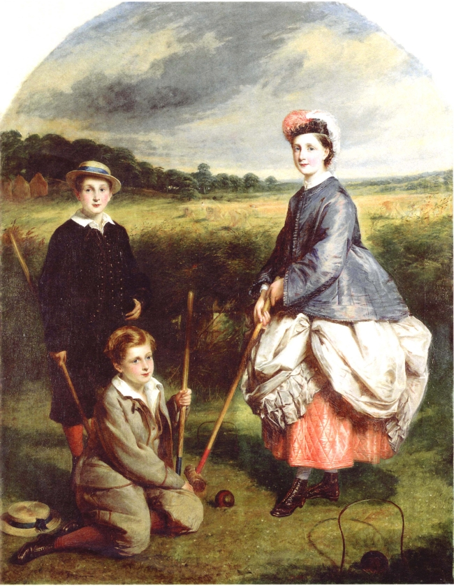 The Middleton Children by William Crawford.   Presented to the Scottish National Portrait Gallery by Gail and Tremaine Arkley